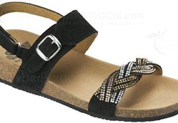 Sandali neri per donna Scholl Kimi XOx27rUhEW