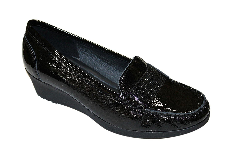 prezzo più economico rapporto qualità-prezzo shopping ARA 12-30928 NEW HAVEN mocassino donna vernice nero ...