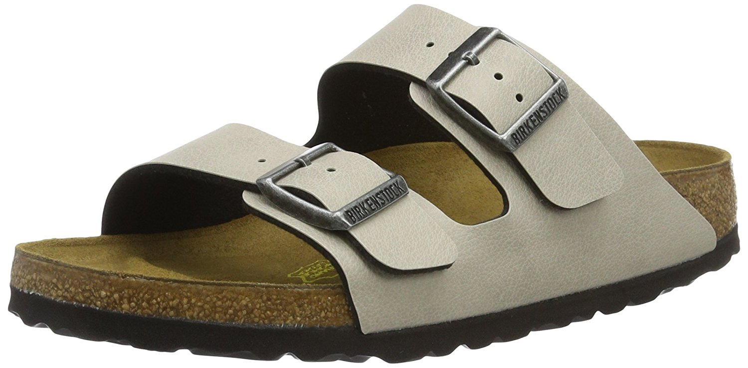 Birkenstock arizona pull up stone e brown parmigiani for Ciabatte birkenstock amazon